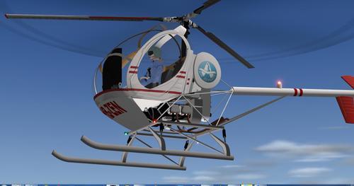 Hughes 300C X-Plane 10