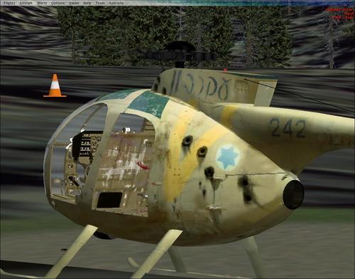 Hughes OH-6 sērija FSX