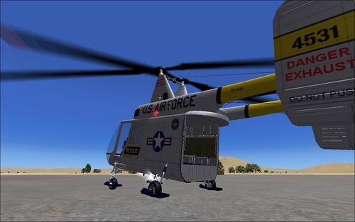 Kaman HH-43 Huskie FSX & P3D