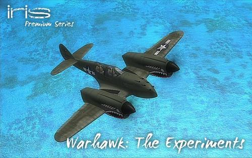 IRIS P-40 Warhawk - The Experiments FSX & P3D