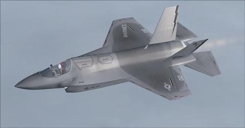 Iris F-35B Scimitar FA.2 FS2004