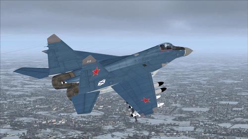 IRIS Mig-29 Fulcrum K Navy FSX