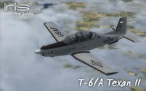IRIS പ്രോ സീരീസ് T-6A ടെക്സാൻ II FSX  &  P3D