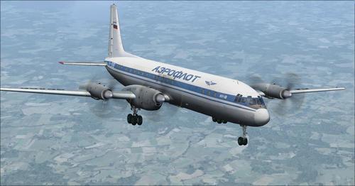 איליושין Il-18 FSX  &  P3D