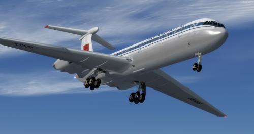 Ilyushin Il-62 ມ FSX & P3D