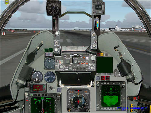 Atlas Cheetah E interception FS2004