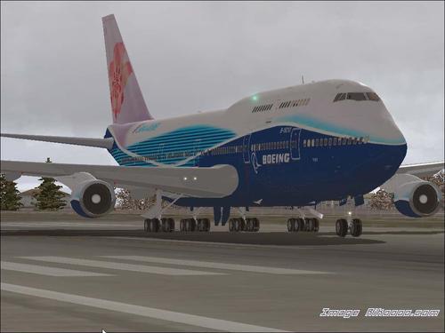 Boeing Ifly 747-400 FS2004