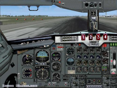 બોઇંગ 707-200 Littoral Airlines FS2004