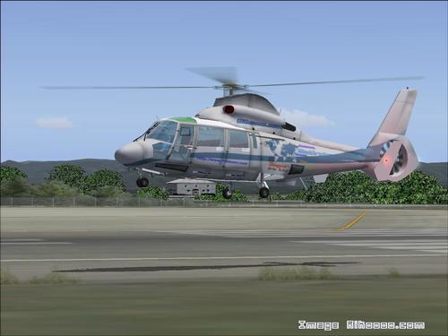 Eurocopter Dauphin AS XNUMX NXNUMX FSXNUMX