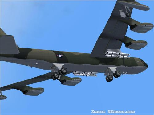 ቦይንግ ጣይ B52 D Stratofortress FS2004