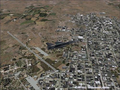 Base Военното де Нджамена Чад FS2004