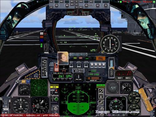 F-14D Tomcat + ටහිටි සුන්දරත්වයෙන් + ගුවන් යානා හාරක ග්ලෙන් යූඑස්එස් FS2004