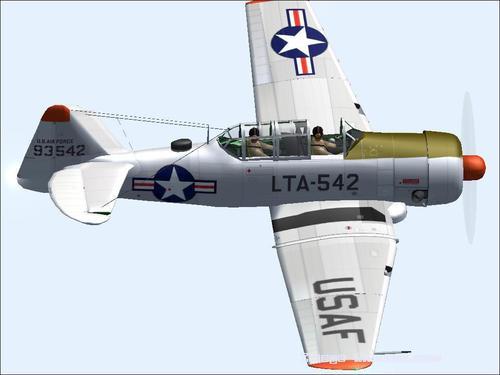 Te Tai Tokerau American T-6G Texan FS2004