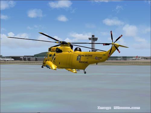 Sikorsky CH-124 මුහුද රජු HAR3A FS2004