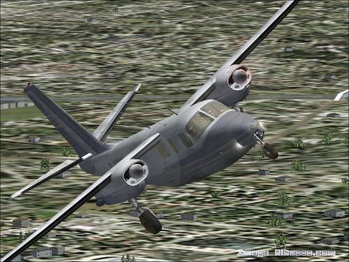 エアロコマンダーAC 500貨物FS2004