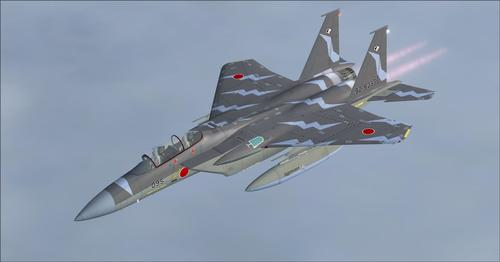 IRIS ಬೋಯಿಂಗ್ F-15E ಸ್ಟ್ರೈಕ್ ಈಗಲ್ FSX  &  P3D