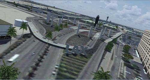 KLAX - Internationale luchthaven Los Angeles Airport FSX  &  P3D