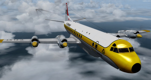 L-188 Electra Airtanker Package FSX & P3D