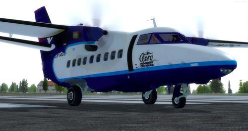 LET L-410 טורבולט FSX  &  P3D