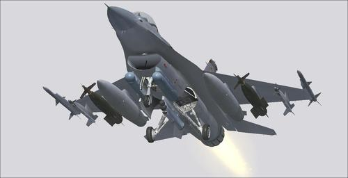 Lockheed Martin F-16 Fighting Falcon FS2004