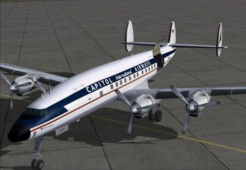 Lockheed L-1049H Super konstelazioa FSX
