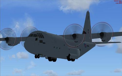 Do locheed Martin C-130J-30 do FSX