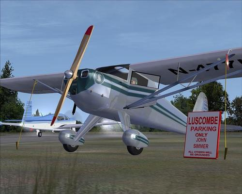 Luscombe 8A Silvaire - بال کلاسیک FSX