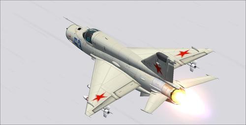 Mig-21 fahaverezan-tsaina mampidi Package FS2004