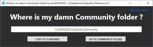 MSFS_2020_Community_Folder_Finder