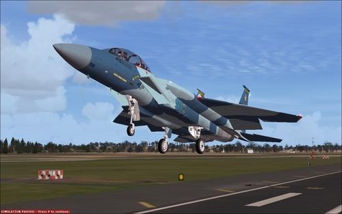 McDonnell Douglas F-15 Eagle CD FSX & P3D