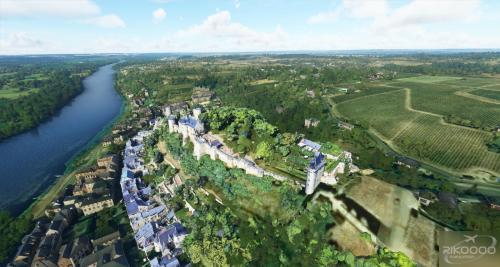 Istana MegaPack Loire Prancis MSFS 2020