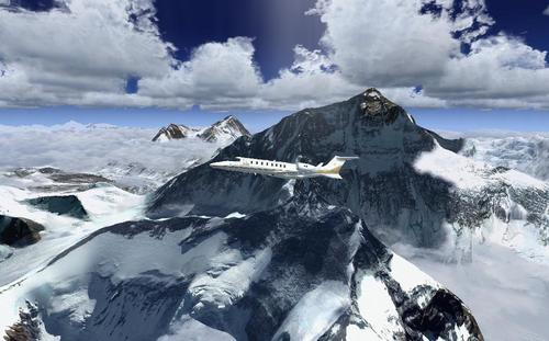 Photoreal Mt Everest móide mogalra FSX  &  P3D