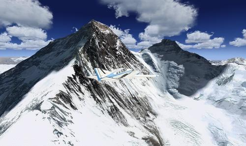 Photoreal Mt Everest me Mesh FSX & P3D