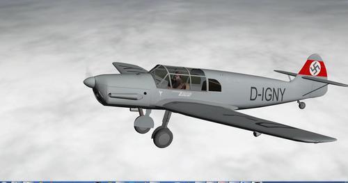 મેસર્સચેમ્ટ બીએફ. એક્સએનટીએક્સ ટેફુન X-Plane  9