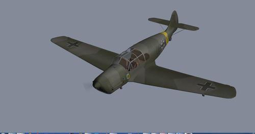 Messerschmitt_Bf.108_Taifun_X-Plane_9_22