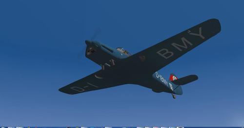 Messerschmitt_Bf.108_Taifun_X-Plane_9_33