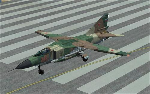 MiG-23 ෆ්ලොගර් FSX  &  P3D