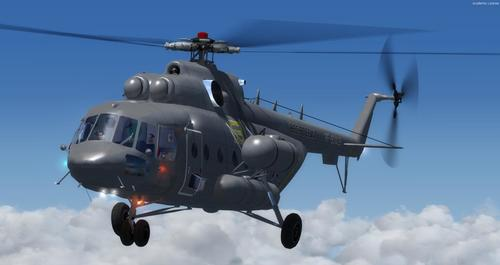 Mil Mi-171 Rosiana Air Force FSX  &  P3D