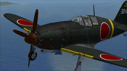 Mitsubishi J2M3 Raiden typ 21 Jack FSX SP2