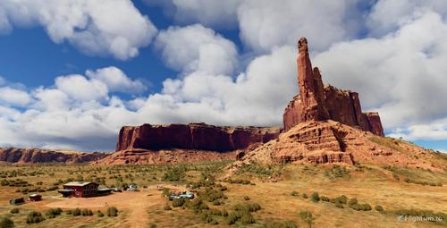 Monument Valley - Arizona-Utah border MSFS 2020
