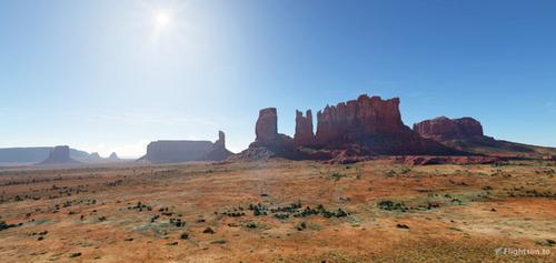 Lembah Monumen - tapel wates Arizona-Utah MSFS 2020
