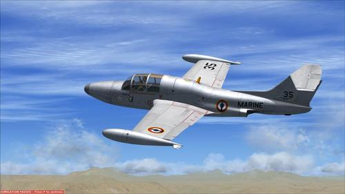 Morane Saulnier MS-760 Paris hlau FSX SP2