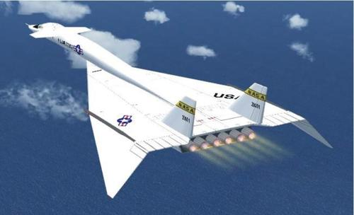 North American XB-70 Bob NASA FS2004
