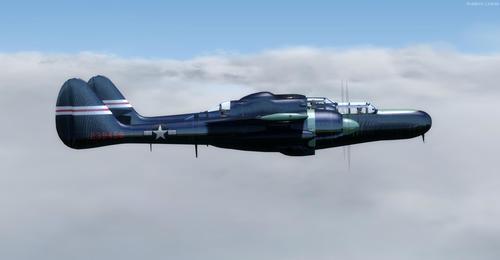 Northrop P-61C Black mpitondratena 62