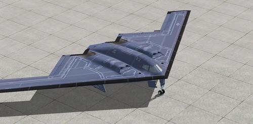 Northrop B-2A Πνεύμα AlphaSim FSX  &  P3D