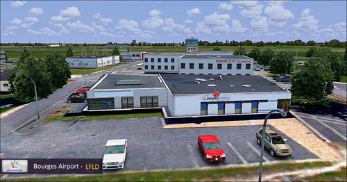 OFX Bourges LFLD FSX  &  P3D