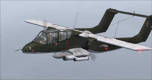 North American Rockwell OV-10A Bronco Series FSX