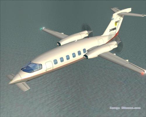 Piaggio P-180 Avanti FS2004