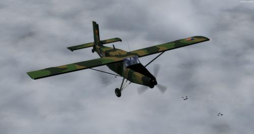 Pilatus PC-6C H2 พนักงานยกกระเป๋า FSX  &  P3D