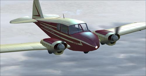 Piper Apache 150 year 1954 FSX & P3D